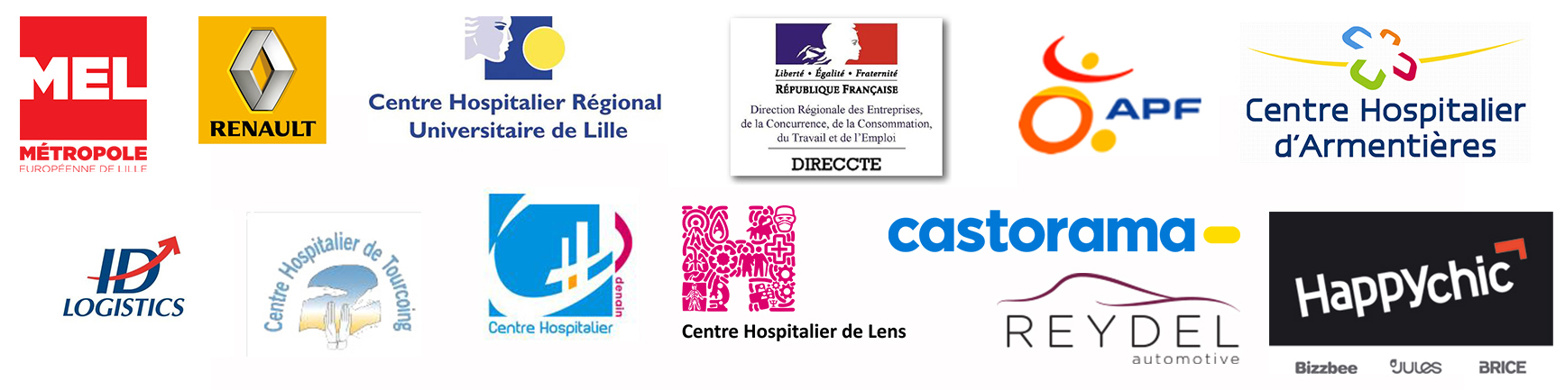 Partenaires de l'institut supérieur d'ostéopathie de Lille